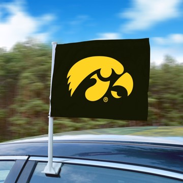 Picture of Iowa Car Flag
