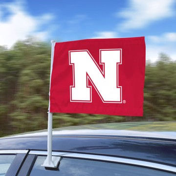 Picture of Nebraska Car Flag