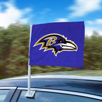 Picture of NFL - Baltimore Ravens Car Flag