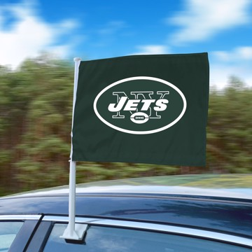 Picture of NFL - New York Jets Car Flag