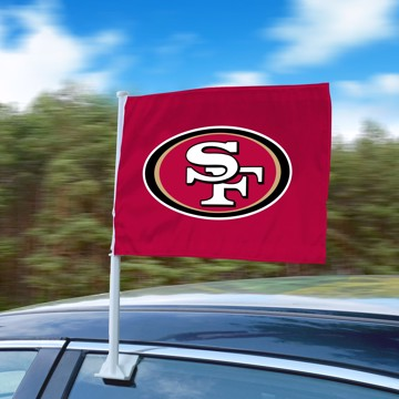 Picture of NFL - San Francisco 49ers Car Flag