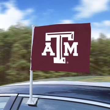 Picture of Texas A&M Car Flag