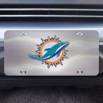 Picture of NFL - Miami Dolphins Diecast License Plate