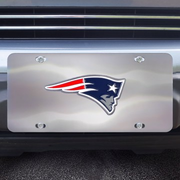 Picture of NFL - New England Patriots Diecast License Plate