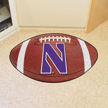 Picture of Northwestern Football Mat