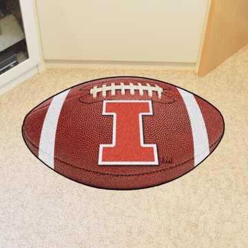 Picture of Illinois Football Mat