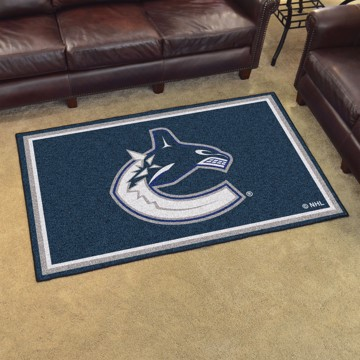 Picture of NHL - Vancouver Canucks 4'x6' Plush Rug