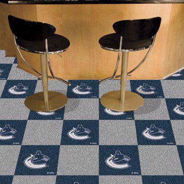 Picture of NHL - Vancouver Canucks Team Carpet Tiles