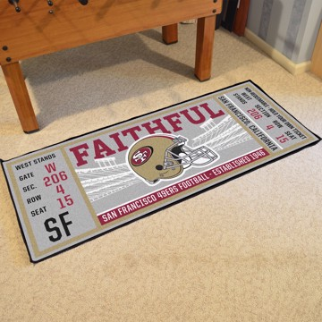 Picture of NFL - San Francisco 49ers Ticket Runner