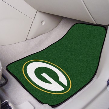 Picture of NFL - Green Bay Packers Carpet Car Mat Set