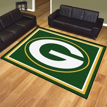 Picture of NFL - Green Bay Packers 8'x10' Plush Rug