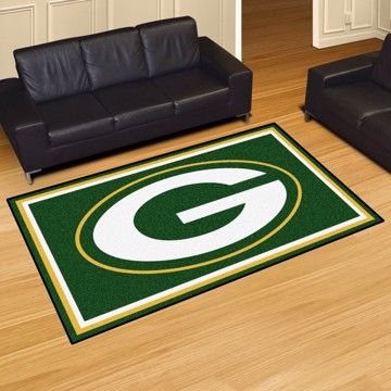 Picture of NFL - Green Bay Packers 5'x8' Plush Rug