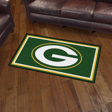 Picture of NFL - Green Bay Packers 3'x5' Plush Rug