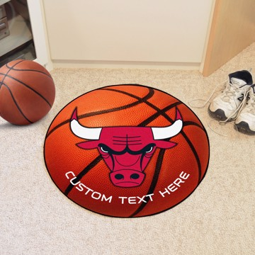 Picture of Chicago Bulls Personalized Basketball Mat