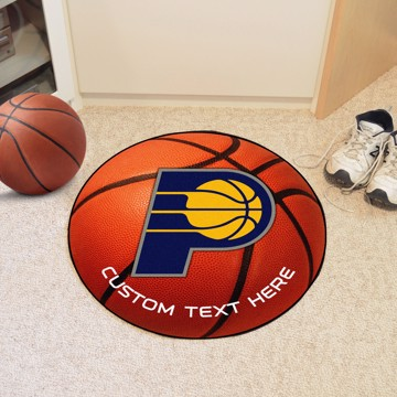 Picture of Indiana Pacers Personalized Basketball Mat