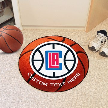 Picture of Los Angeles Clippers Personalized Basketball Mat