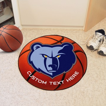 Picture of Memphis Grizzlies Personalized Basketball Mat