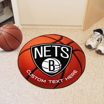Picture of Brooklyn Nets Personalized Basketball Mat