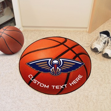 Picture of New Orleans Pelicans Personalized Basketball Mat