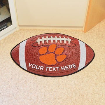 Picture of Personalized Clemson University Football Mat
