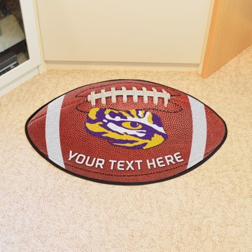 Picture of Personalized Louisiana State University Football Mat