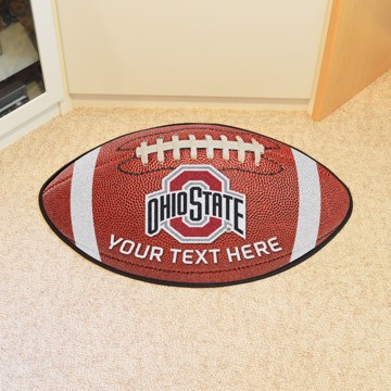 Picture of Personalized Ohio State University Football Mat