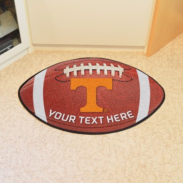 Picture of Personalized University of Tennessee Football Mat