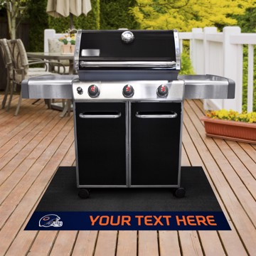 Picture of Chicago Bears Personalized Grill Mat