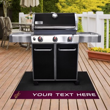 Picture of NBA - Cleveland Cavaliers Personalized Grill Mat