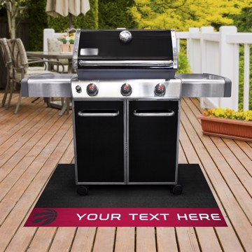 Picture of Toronto Raptors Personalized Grill Mat