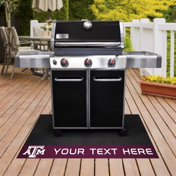 Picture of Personalized Texas A&M University Grill Mat