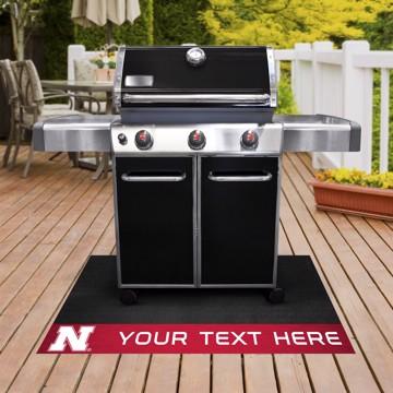 Picture of Personalized University of Nebraska Grill Mat