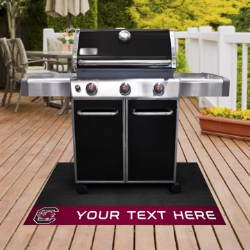Picture of Personalized University of South Carolina Grill Mat
