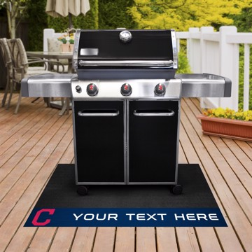Picture of Cleveland Indians Personalized Grill Mat