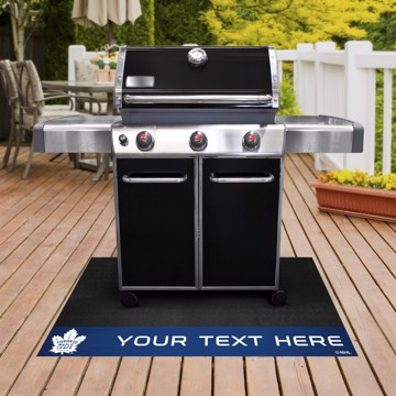 Picture of Toronto Maple Leafs Personalized Grill Mat