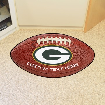 Picture of Green Bay Packers Personalized Football Mat