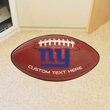 Picture of New York Giants Personalized Football Mat