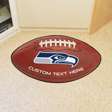 Picture of Seattle Seahawks Personalized Football Mat