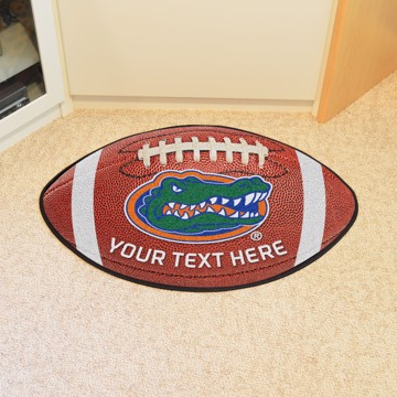 Picture of Personalized University of Florida Football Mat