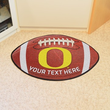 Picture of Personalized University of Oregon Football Mat