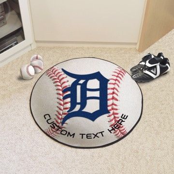 Picture of Detroit Tigers Personalized Baseball Mat