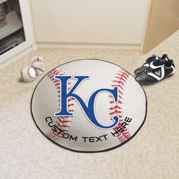 Picture of Kansas City Royals Personalized Baseball Mat
