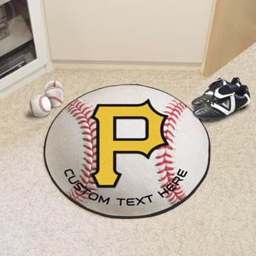 Picture of Pittsburgh Pirates Personalized Baseball Mat