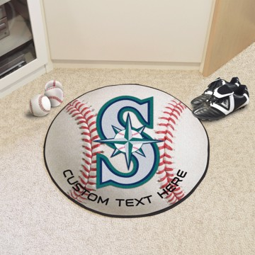 Picture of Seattle Mariners Personalized Baseball Mat
