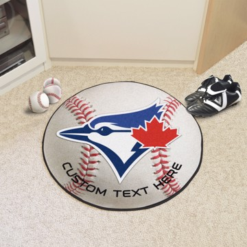 Picture of Toronto Blue Jays Personalized Baseball Mat