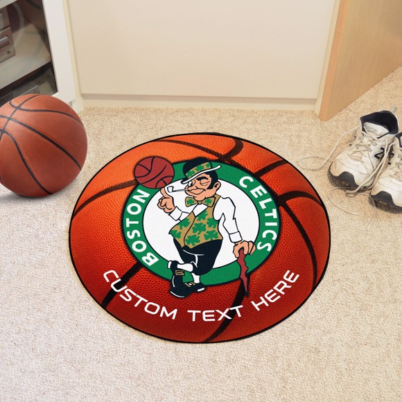 Picture of NBA - Boston Celtics Personalized Basketball Mat Rug