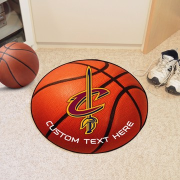 Picture of NBA - Cleveland Cavaliers Personalized Basketball Mat Rug