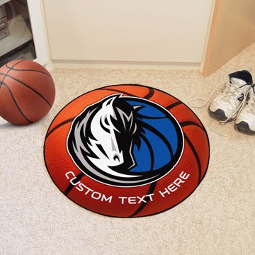 Picture of Dallas Mavericks Personalized Basketball Mat