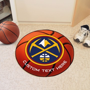 Picture of Denver Nuggets Personalized Basketball Mat