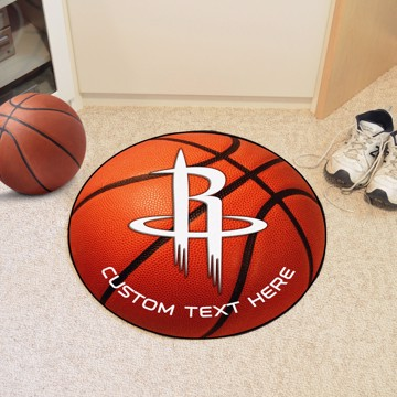 Picture of Houston Rockets Personalized Basketball Mat
